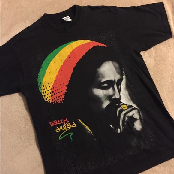 d43c70e958f Bob Marley Super Heavyweight T-shirt. M 5aae91cc6bf5a694c7d46590. Other  Shirts ...
